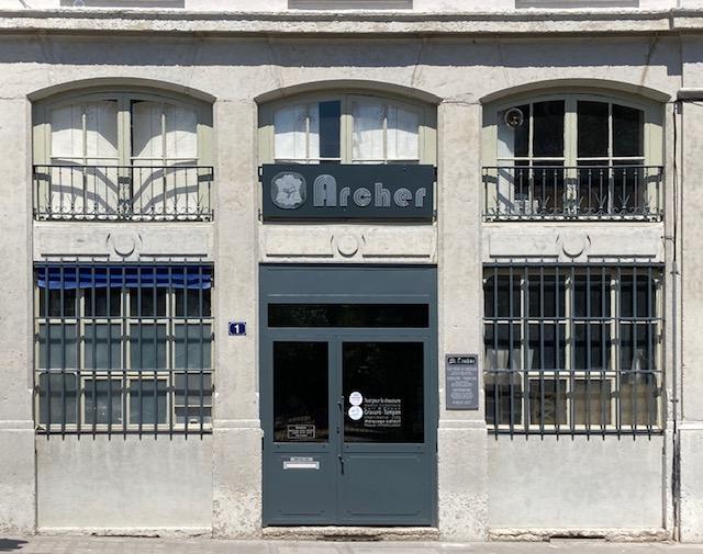 La devanture de votre magasin Archer SAS à Lyon