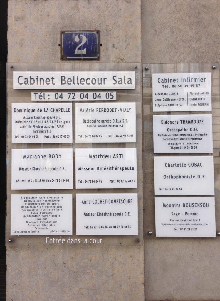 Un cabinet à Bellecour