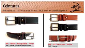 Catalogue ceintures