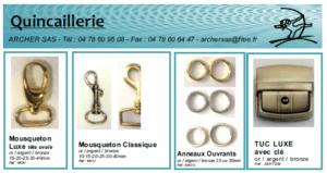 Catalogue quincaillerie